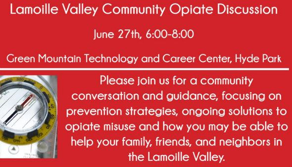 Lamoille Valley Community Opiate Discussion