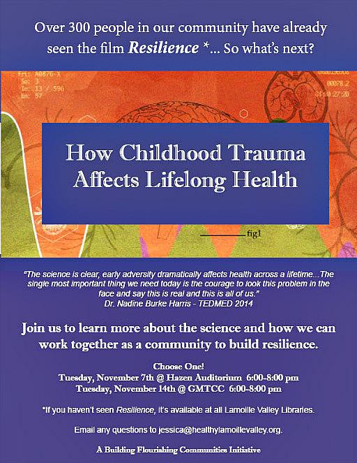 How Childhood Trauma Affects Lifelong Health