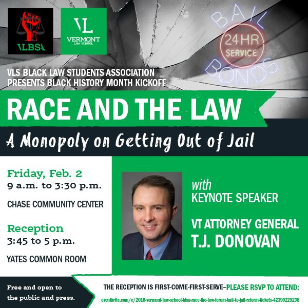 Vermont Law School's Annual Race and the Law Forum