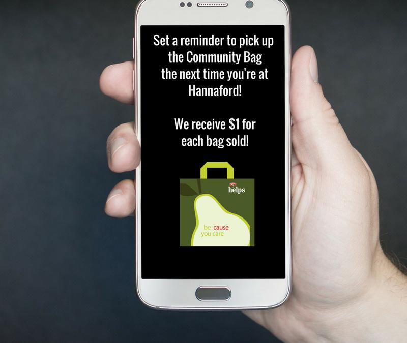 June is Hannaford Helps Reusable Bag Program Month for LRC